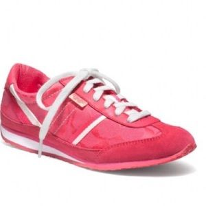 IOB Pink Coach Marabelle Signature Sneakers 7M